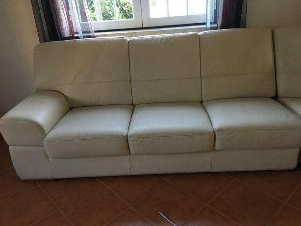Vendo sofá seis lugares de canto