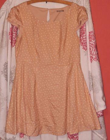 Sukienka w groszki rozmiar 44