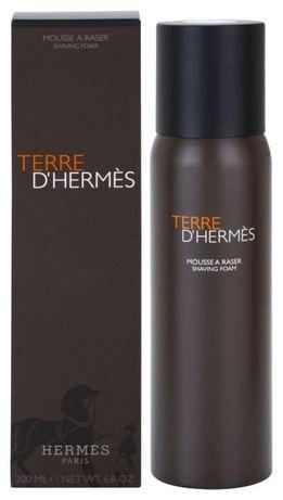 TERRE D'HERMES mousse a raser shaving foam 200ml