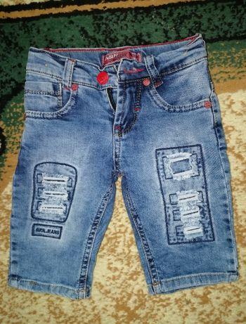 Джинсовые шорты для мальчика на 4 года