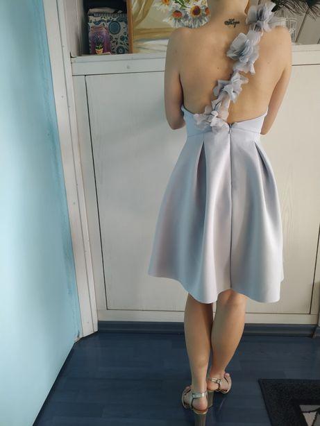 Błękitna sukienka ASOS