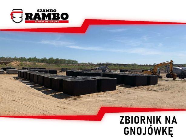 Zbiornik Betonowy 7m3 Na Gnojówkę Wodę Deszczówkę Szambo Betonowe