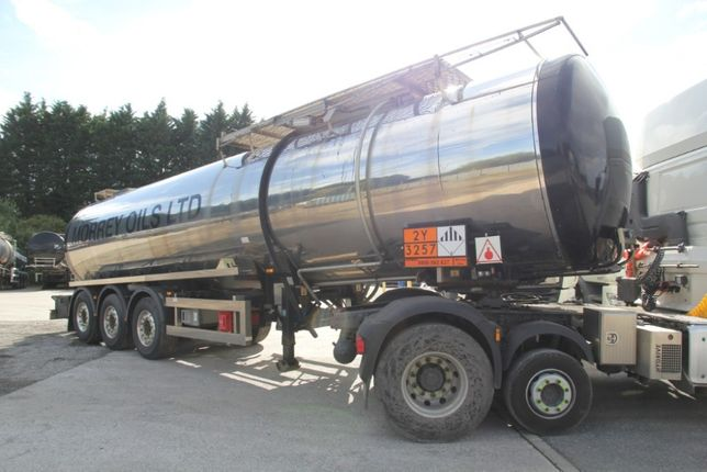 Бітумна цистерна Clayton Tanker 31500L Bitumen