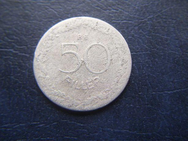 Stare monety 50 fillerów 1948 Węgry