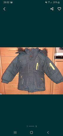 Zimowa kurtka rozm. 98/104