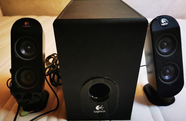 Logitech X-230 Speakers 2.1 32 W Preto 2.1 canais