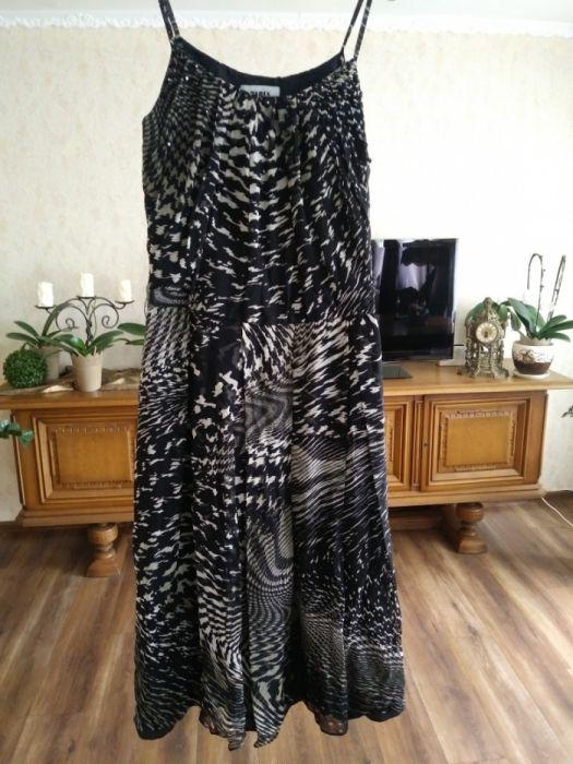 Sukienka Pabia 100% jedwab nowa Miłocice - image 1