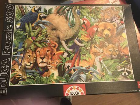 puzzles criança