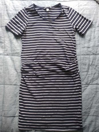 Sukienka ciążowa HM rozm. S stan bdb + gratis