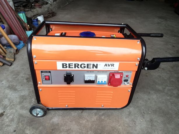 Agregat prądotwórczy Bergen