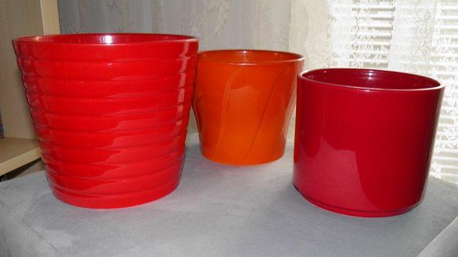 Osłonki ceramiczne 3 szt osłonka Ikea Obi komplet