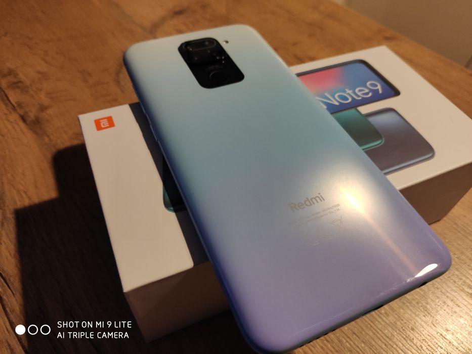 Xiaomi Redmi Note 9 Polar White 4GB/128GB Jak Nowy Gwarancja 07.2022 Radzymin - image 1