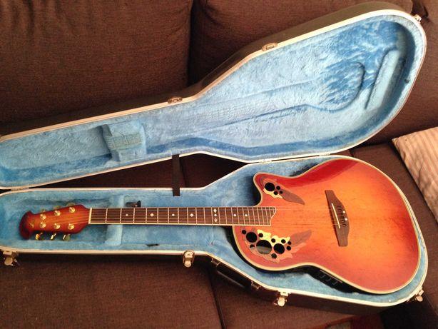 Guitarra Ovation Celebrity Deluxe mod CC257 como nova c/ estojo.