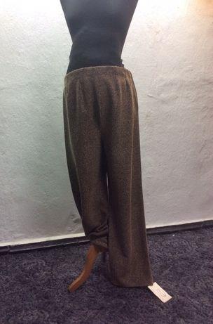 Spodnie ciążowe rozmiar M nowe Ma-ma brąz jodełka