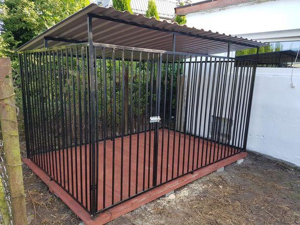 Kojec Klatka Zagroda Buda dla psa 2x2m Montaż Gratis i Solidny