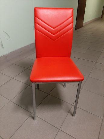 Krzesła skóra syntetyczna. Cena za komplet