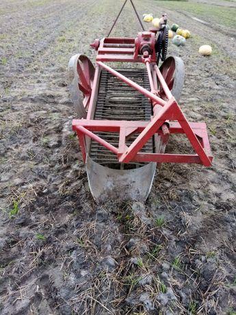 Одрядкова картоплекопалка перероблена і вдосконалена.