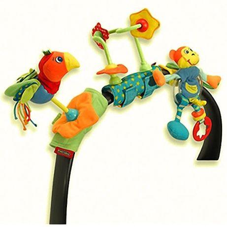 ТРОПИЧЕСКИЙ ОСТРОВ Tiny Love Набор игрушек для коляски тини лав