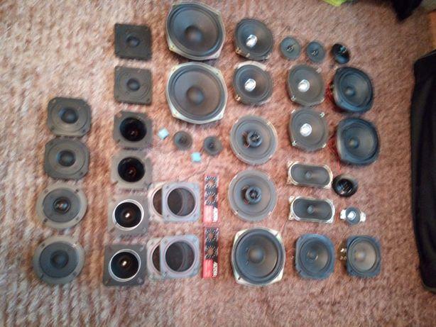 Głośniki różnych firm używane