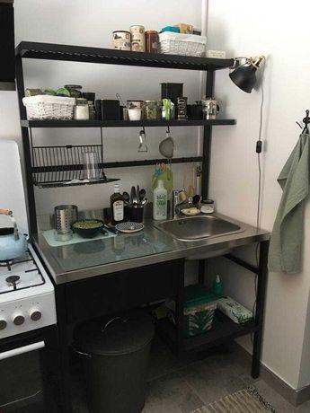 Ikea RAVAROR kompletna mini kuchnia, bateria, zlew, syfon