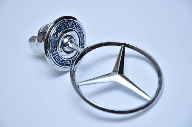 Эмблема/Штерн/Прицел на капот Mercedes w124/w202/w203/w210/w211/w220