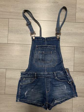стильный джинс комбинезон шорты