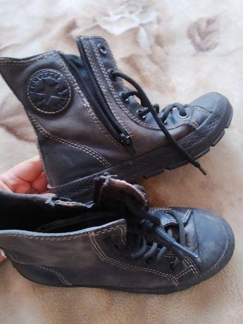 Продам кожаные кеды Converse
