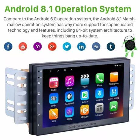 Автомагнитола 2 DIN Pioneer Pi-707 2Gb оперативки 32 gb Android 10 GPS
