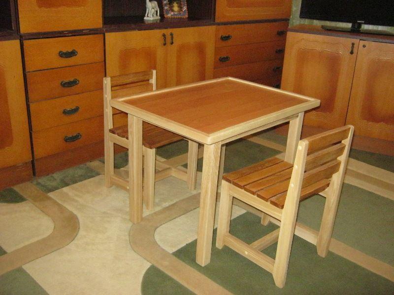 Комплект Детский Стол + 2 Стульчика Светловодск - изображение 1