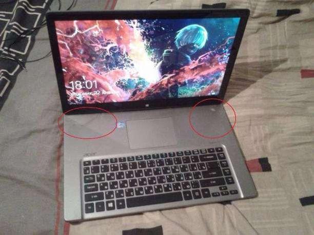 Acer Aspire R7 571G\572G - Разборка