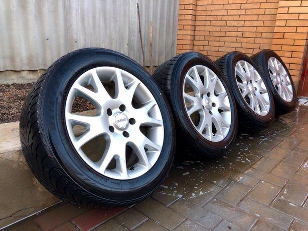 Диски з шинами R17 5.120 7.5J Eт40 БМВ BMW 3 5 Фольцваген т5
