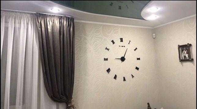 Часы 3д современные интерьерные