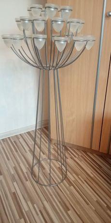 Świecznik na podgrzewacze 120cm