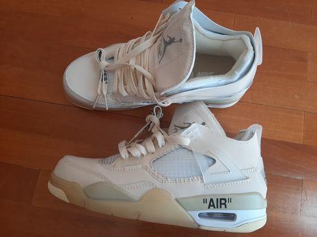 Nike Jordan 4 Off White cremes