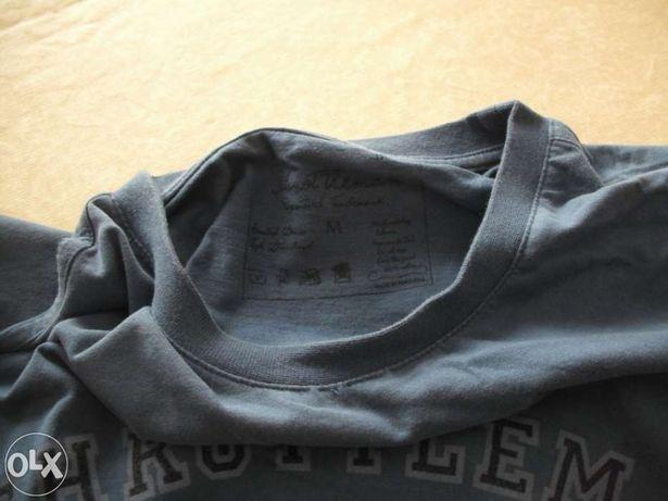 Homem- Sweatshirt Throttleman estampagem aveludada
