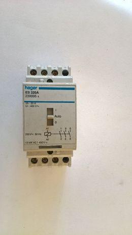 Contactor Hager ES 320A - 20A/230V, 3 Contactos, 13kW AC1 400V~