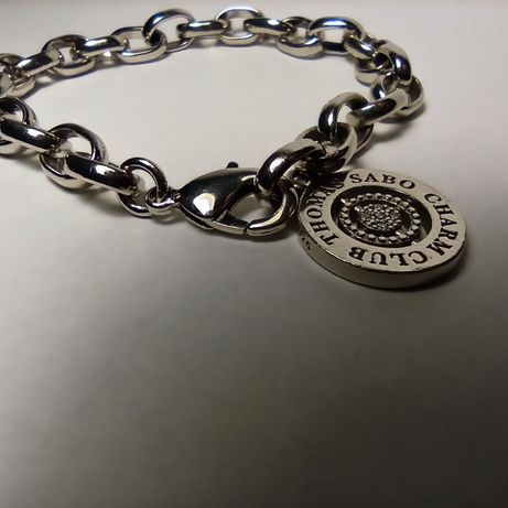 Nowa srebrna 925 bransoletka Thomas Sabo Charm Club