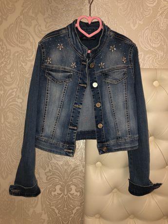 Джинсовая куртка пиджак Miss Blumarine (12 лет) оригинал