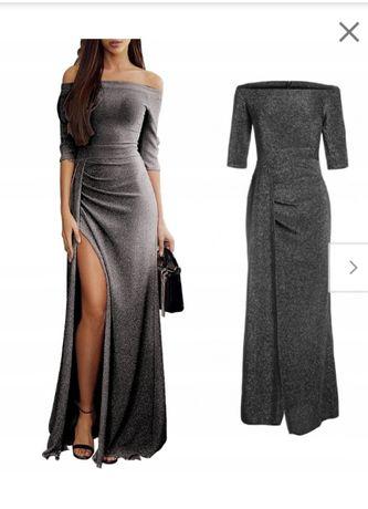 Długa sukienka M L