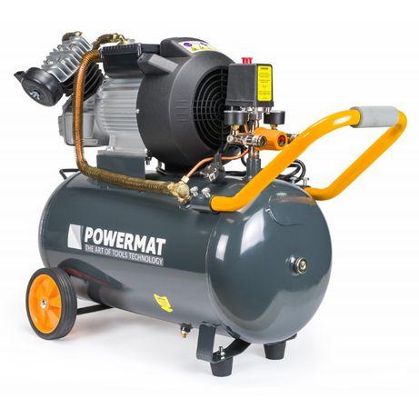 Kompresor olejowy sprężarka 3 KM 50L 392l/min