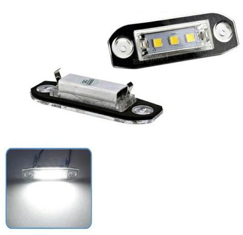 Lampki oświetlenia rejestracji LED Volvo nowe