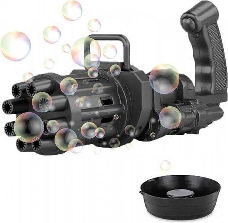 Детский игрушечный пистолет для создания мыльных пузырей Gatling