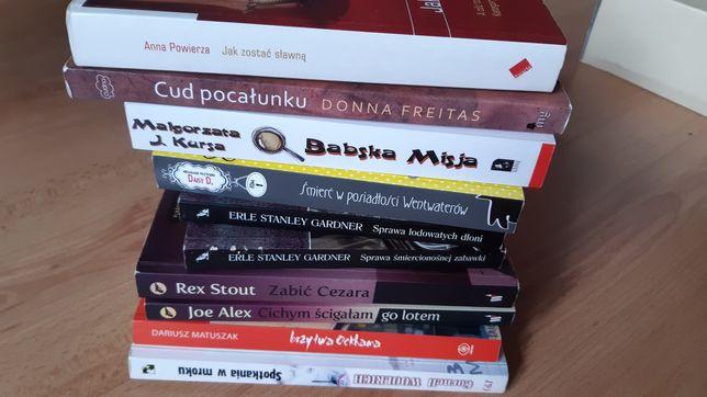 Książki dla bab :-) kryminał humor miłość