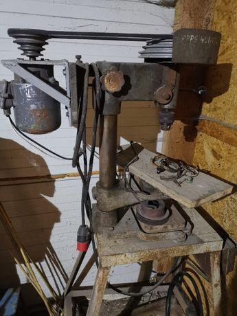 Wiertarka stołowa ws 13 silnik 0,8 kw 2860 obr