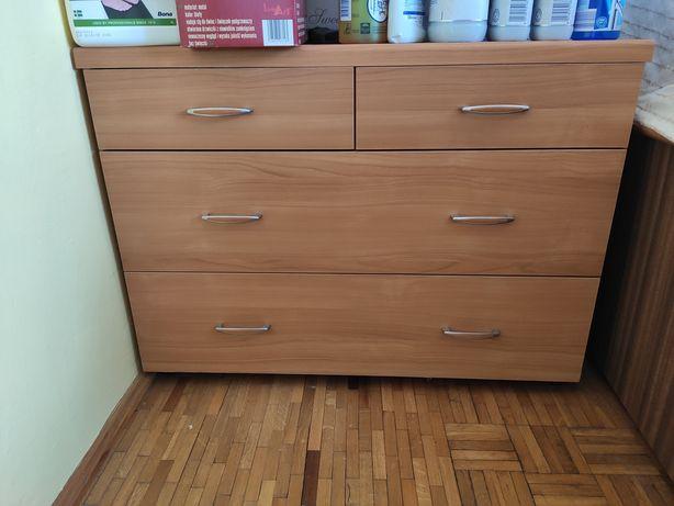 Komoda z szufladami szafka używana w dobrym stanie