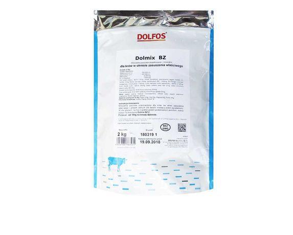 DOLMIX BZ 2 kg mieszanka mineralna dla krów w okresie zasuszenia