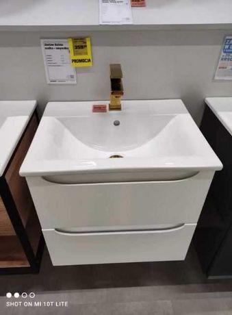 Sprzedam umywalkę z szafką. Nowa .