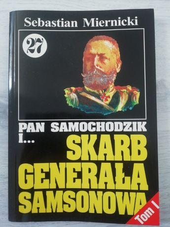 Książka Pan Samochodzik i Skarb generała Samsonowa Tom 27 część I