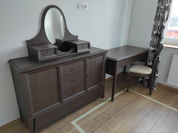 meble VOX - YOKA biurko+komoda+lustro+krzeszło+szafa (BRW)