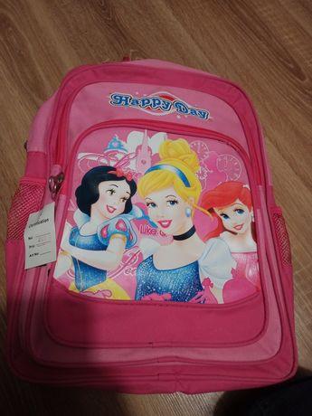 Plecak z księżniczkami